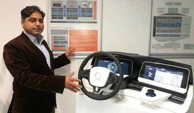 waheed-ahmed-shows-visteon-smartcore-technology